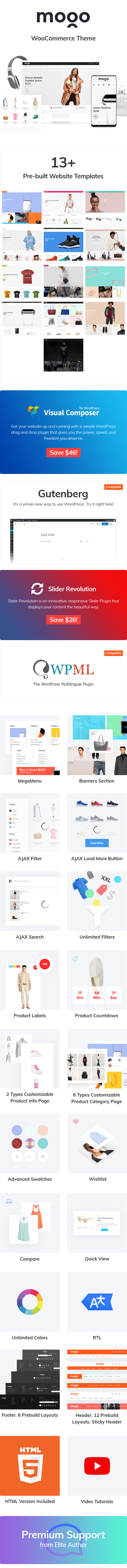 Mogo - Fastest Fashion WooCommerce WordPress Theme - 5